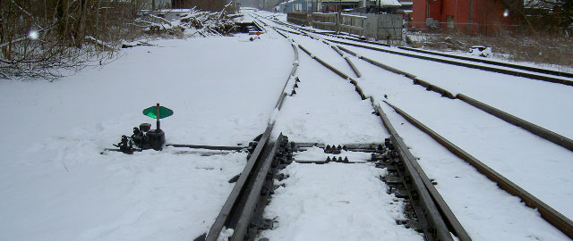 Rail Switch Ice Prevention